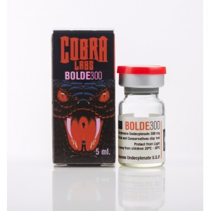 BOLDE 300 - (Boldenona) COBRA 5 ML