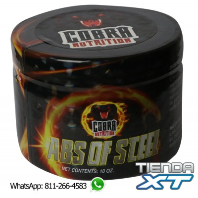 COBRA ABS OF STEEL – Crema de entrenamiento